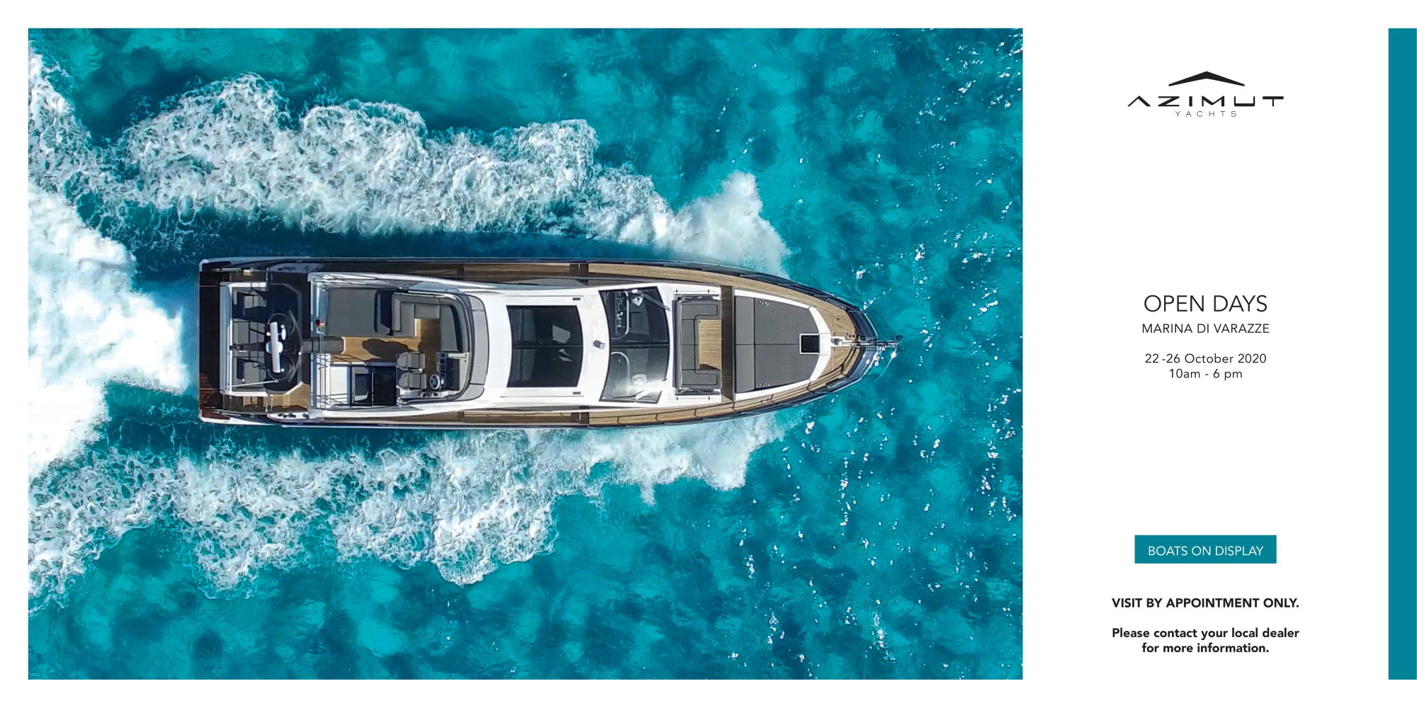 PRIVATE BOAT SHOW VARAZZE 2020